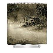 The First Snow Shower Curtain