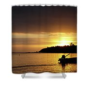 The First Sunrise Shower Curtain