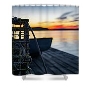 The Fisherman's Life Shower Curtain