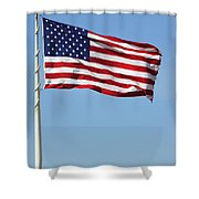 The Flag Shower Curtain