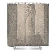 The Flat Iron New York Shower Curtain