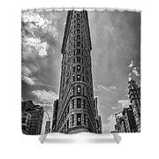 The Flatiron Building Nyc Shower Curtain
