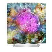 The Floating Garden Shower Curtain