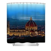 The Florence Cathedral  Shower Curtain