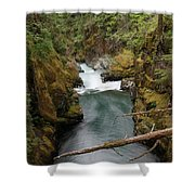 The Flow Of It All  Shower Curtain