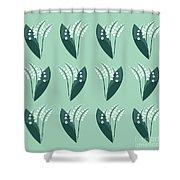 The Flower Garden Shower Curtain