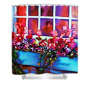 The Flowerbox Shower Curtain