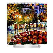The Flowers Of Luxembourg Shower Curtain