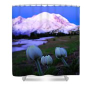 The Flowers Of Sunrise  Shower Curtain