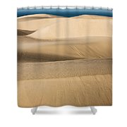 The Flowing Earth Shower Curtain