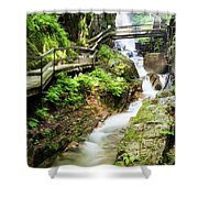 The Flume Gorge Lincoln New Hampshire Shower Curtain