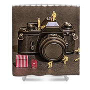 The Focus On Film Corporation Shower Curtain