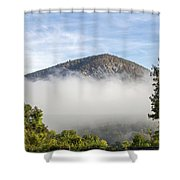 The Fog Is Rising Shower Curtain