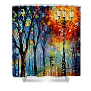 The Fog Of Dreams Shower Curtain