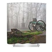 The Fog Of War. Shower Curtain