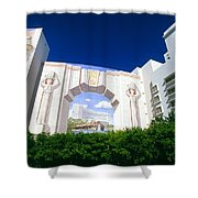 The Fontainebleau Hotel Shower Curtain