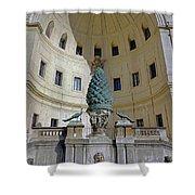 The Fontana Della Pigna In The Vatican City Shower Curtain