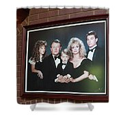 The Fontanel Mansion Farm - Former Home Of Barbara Mandrell Outside Nashville, Tennessee Shower Curtain