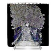 The Foot Bridge Shower Curtain