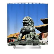 The Forbidden Palace Shower Curtain