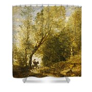 The Forest Of Coubron Shower Curtain