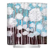 The Forest Of Fluff  Shower Curtain