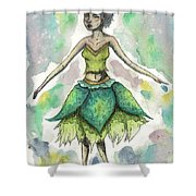 The Forest Sprite Shower Curtain