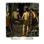 The Forge Of Vulcan Shower Curtain