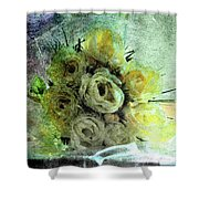 The Forgotten Flowers Shower Curtain