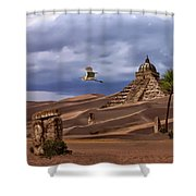 The Forgotten Kingdom Of Kush Shower Curtain