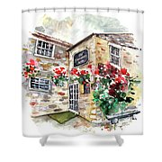 The Forresters Arms In Kilburn Shower Curtain