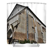 The Fortress Church 3 Shower Curtain