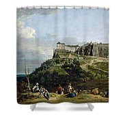 The Fortress Of Konigstein Shower Curtain