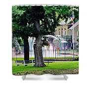 The Fountain For Youth Shower Curtain