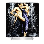 The Fountain Of Tango Shower Curtain