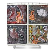 The Four Shower Curtain