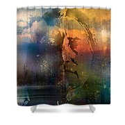 The Four Directions Shower Curtain