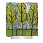 the Four Seasons - spring Shower Curtain