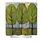The Four Seasons - Summer Shower Curtain