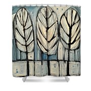 The Four Seasons - Winter Shower Curtain