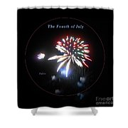 The Fourth Of July Shower Curtain