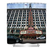The Fox Theatre In Detroit Welcomes Charlie Sheen Shower Curtain