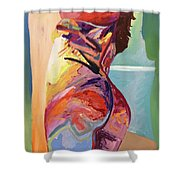 The Frame Shower Curtain