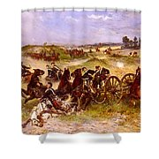 The Fray Of Battle Shower Curtain