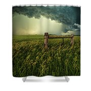 The Frayed Ends Of Sanity  Shower Curtain