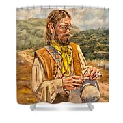 The Free Thinker Shower Curtain
