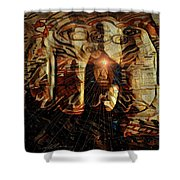 The Freedom Is In The Mind Shower Curtain