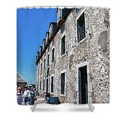 The French Castle 6664 Shower Curtain