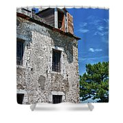 The French Castle 6947 Shower Curtain