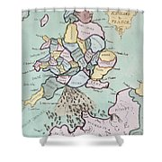 The French Invasion Shower Curtain
